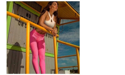 Ruching push up leggings for fitness clothing - Athleisure Republic