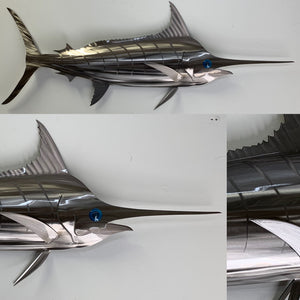 "48"" Stainless Steel Marlin"