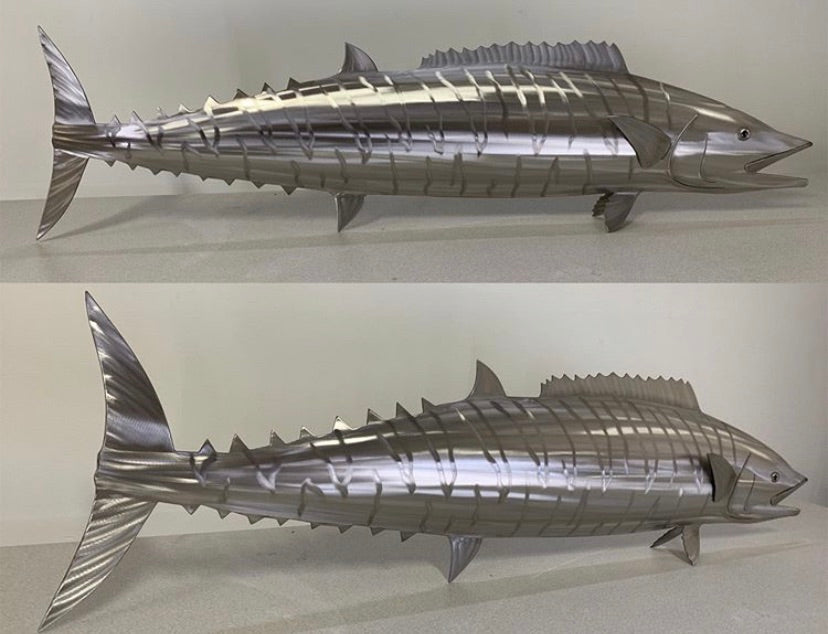 "36"" Stainless Steel Wahoo"