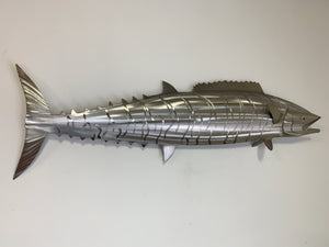 "50"" Stainless Steel Wahoo Sculpture"