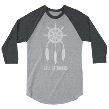 Load image into Gallery viewer, Mariners Dreamcatcher 3/4 sleeve raglan shirt