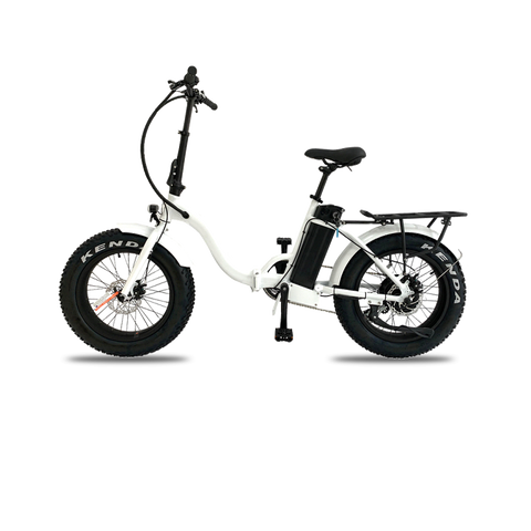 Step thought easy fold ebike