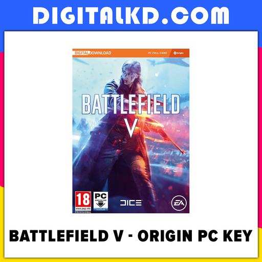 Battlefield V - PC - EA Origin Key - Digital Download - Battlefield 5 - DigitalKD.com