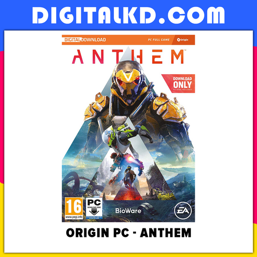 [PC] Anthem Standard Edition Origin - New Released 2019 - Legion of Dawn - DigitalKD.com