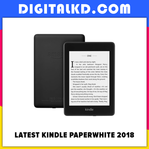 Latest Kindle Paperwhite 2018 10th Generation - DigitalKD.com