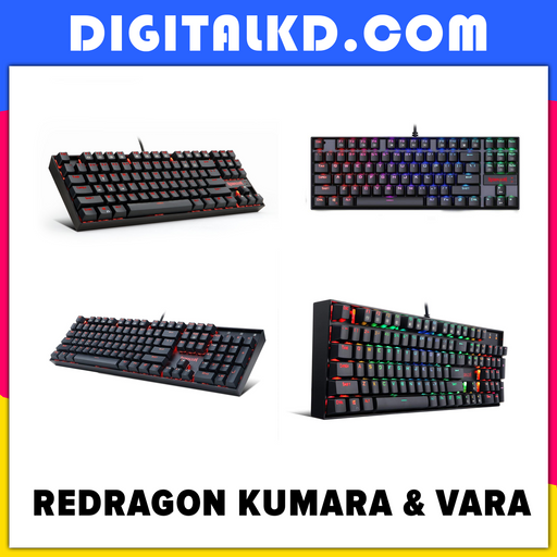 Redragon KUMARA And VARA Mechanical Keyboard - DigitalKD.com