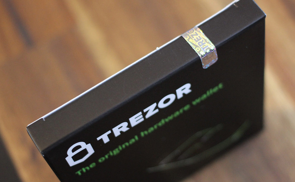 Trezor One - Digital Bitcoin Hardware Wallet & Cryptocurrency Wallet