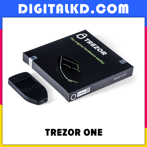Trezor One - Digital Bitcoin Hardware Wallet & Cryptocurrency Wallet - DigitalKD.com