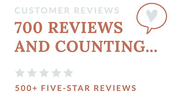 700 reviews and counting