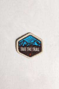 Take the Trail Patch