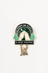 No Place Enamel Pin