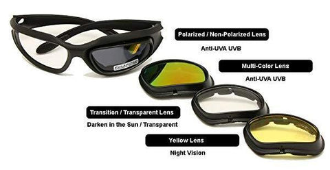 Motorcycle Goggles - Dust Proof Polarized Motorcycle Glasses