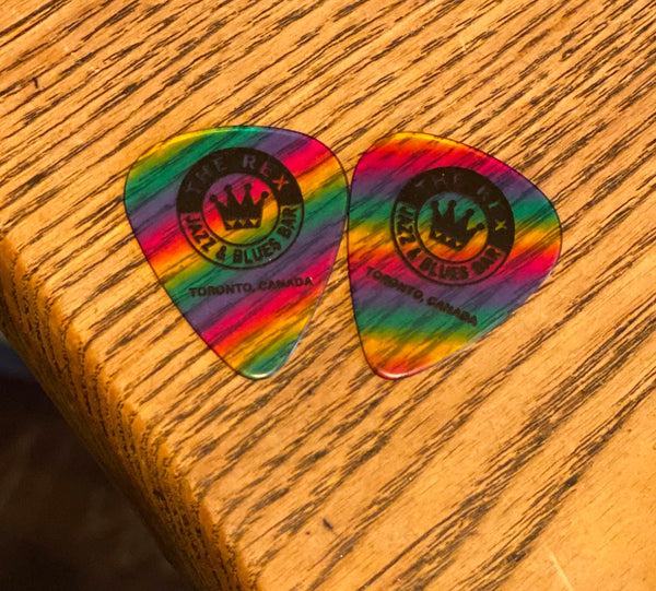 The Rex Rainbow Guitar Picks