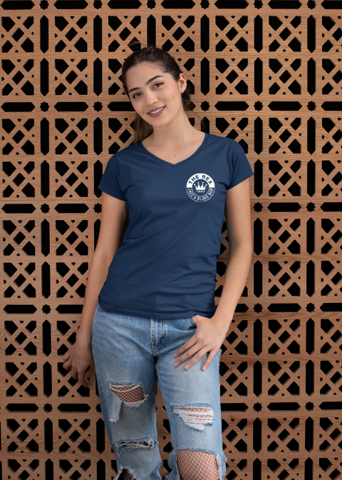 Rex Lady V-Neck T-Shirt