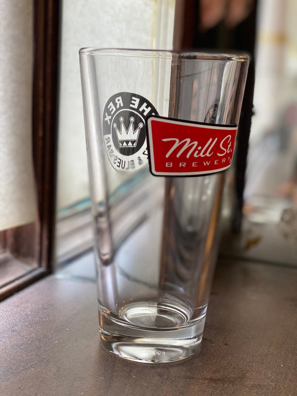 The Rex Mill St. Pint Glass