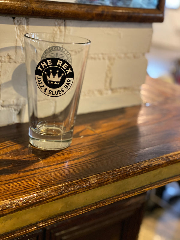 The Rex GLB Pint Glass