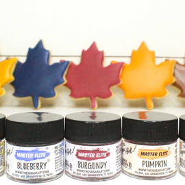 The Sugar Art - Fall Master Elite Collection - 5PC Bundle