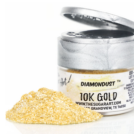 10K Gold Diamondust