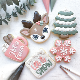 Sugar Vibes Bakery Christmas Cookie Class - Beginner/Intermediate
