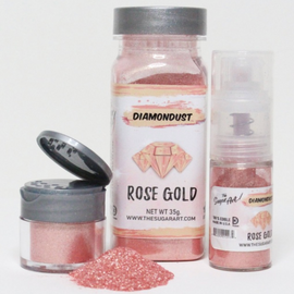 The Sugar Art - Rose Gold Diamondust