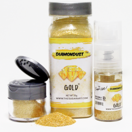 The Sugar Art - Gold Diamondust