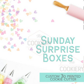 The Cookiery Sunday Surprise Box - assorted cutters