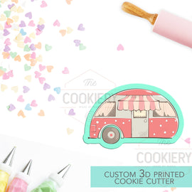 RV Camper Cookie Cutter - Camper Cookie Cutter - 3D Printed Cookie Cutter - TCK64103
