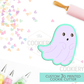 Ghost Cookie Cutter - Halloween Ghost - Cookie Cutter -  3D Printed Cookie Cutter - TCK62114