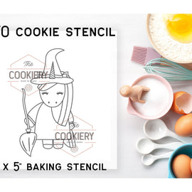 Halloween Unicorn PYO Stencil - Paint your Own Stencil - Cookie Stencil - Airbrush Stencil - Baking Stencil