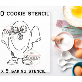 Halloween PYO Stencil - Paint your Own Stencil - Cookie Stencil - Airbrush Stencil - Baking Stencil