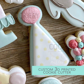 Party Hat Cookie Cutter -  Birthday Animals Cookie Cutter -   3D Printed Cookie Cutter - TCK85156