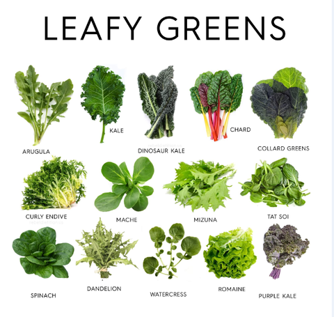 leafy greens for good liver health