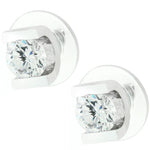 Brilliant Set Cubic Zirconia Earrings