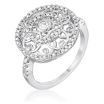.5 Ct Interlocking Circles Ring with CZ