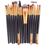 Professional Nylon Makeup Brushes  - 7/10/15pcs/kits