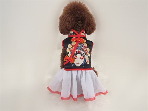 Chinese Style Cat/Dog Dress