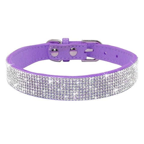 Bling Rhinestone Collar For Small Pets