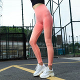 High Waist Seamless Jogging Leggings