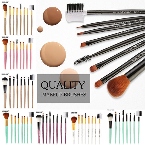 8pc Professional Makeup Brush Kit