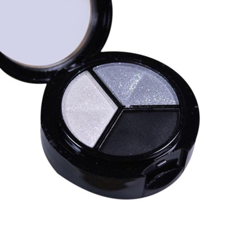 Natural Smoky Glitter/Shimmer/Matte Waterproof Eye Shadow - 3 Colors
