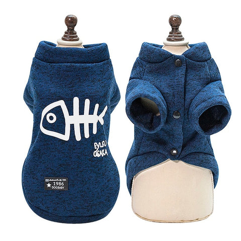 Trendy Fish Sweater For Small Pets