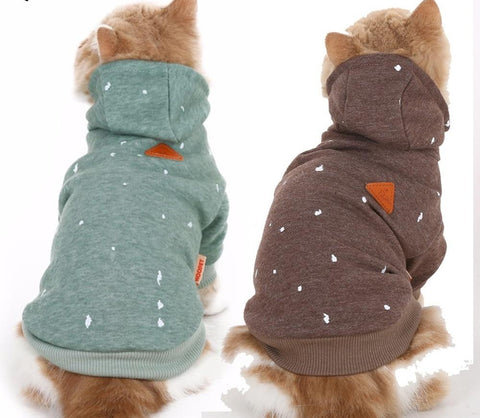 Cat/Dog Warm Hoodie