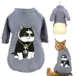 Dog/Cat Fashion Stripe T-shirt