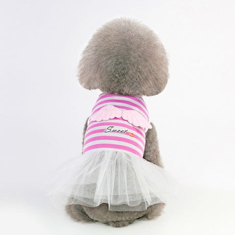 Cute Wing Dress For Small Pets