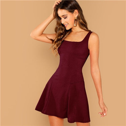 Fit And Flare Stylish Dress