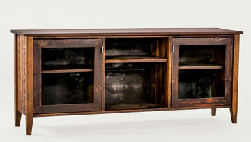 The Bolton Console - Glass inlay