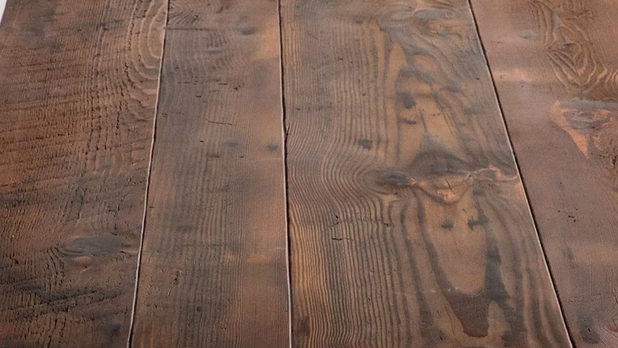 Wood Sample: Rough Sawn // Medium Brown