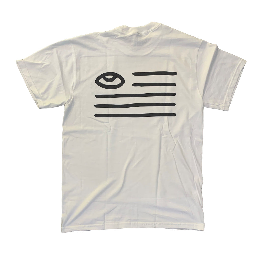 Eye FLAG Tee White