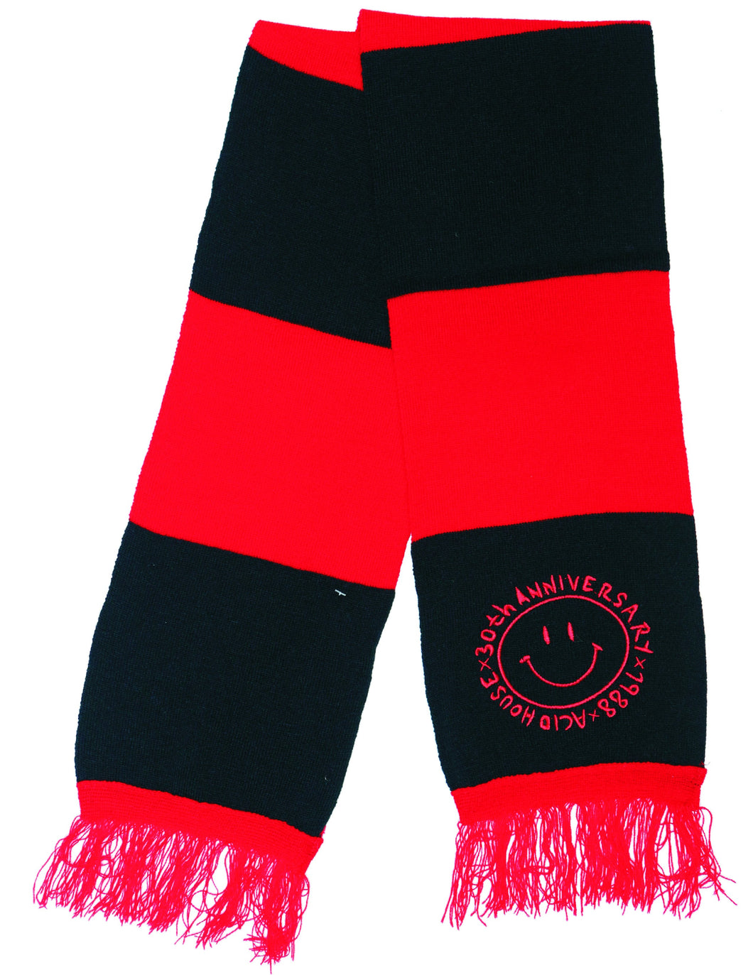 James Enox 1988 Scarf Black - Red