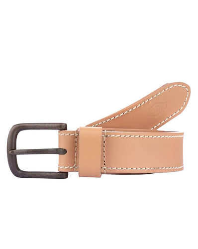 Dickies Branchville Leather Belt Natural
